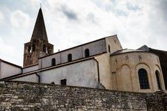 Euphrasius Church in Porec Royalty Free Stock Images