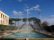 eur喷泉 库存图片