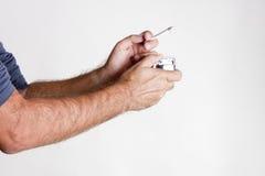 EUR-10 del sigaro Fotografie Stock Libere da Diritti