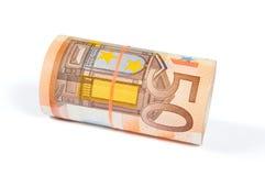 50 EUR Fotografia de Stock