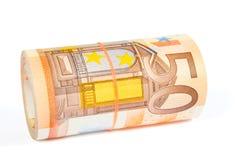 50 EUR Imagens de Stock Royalty Free