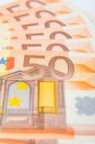 50 Eur Royalty-vrije Stock Foto