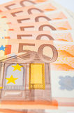 50 Eur Royaltyfri Foto