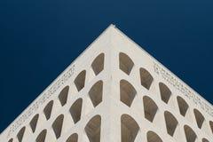 Eur, colosseo quadrato. Eur, Palazzo Civiltà del Lavoro, Colosseo quadrato stock photography