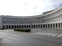 EUR, Esposizione Universale Roma, Roma imagen de archivo