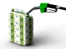 Eur gas can Stock Photo