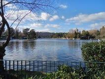 Eur lake. A big lake in rome Stock Photo