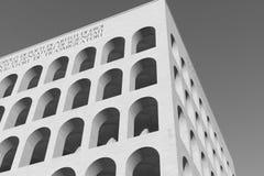 EUR, quadrato de colosseo image libre de droits