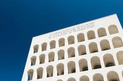 EUR, quadrato del colosseo imagen de archivo libre de regalías