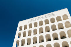 EUR, quadrato do colosseo Imagem de Stock Royalty Free