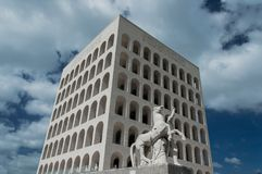 EUR Rom - Italien Lizenzfreies Stockfoto