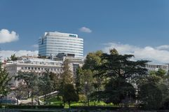 EUR Rome - Italien Arkivfoton