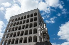 EUR Rome - Italien Arkivbild