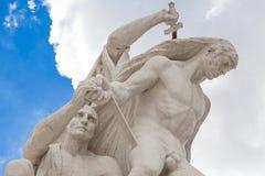 Eur Rome, sculpture Stock Photography