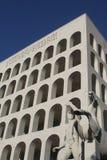 EUR Standbeeld - Rome royalty-vrije stock fotografie