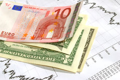 EUR/USD. Royalty Free Stock Images