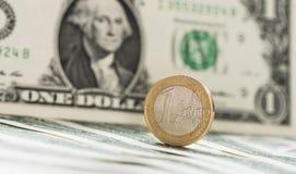 EUR/USD Exchange Stock Image