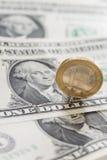 EUR/USD Exchange Stock Photo