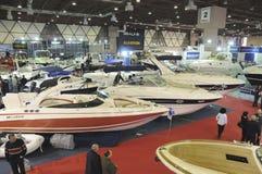 Eurasia boat show Stock Image