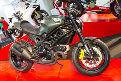 Eurasia Moto Bike Expo 2013. Ducati Monster 1100 Diesel in Eurasia Moto Bike Expo on March 02, 2013 in Istanbul, Turkey Royalty Free Stock Image