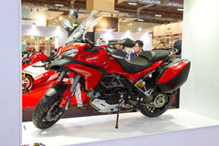 Eurasia Moto Bike Expo 2013 Royalty Free Stock Images