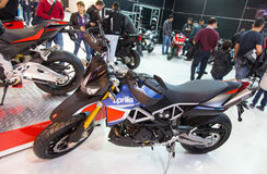 Eurasia Moto Bike Expo Stock Images