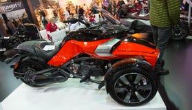 Eurasia Moto Bike Expo Royalty Free Stock Photography