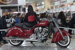 Eurasia Moto Bike Expo Royalty Free Stock Photos