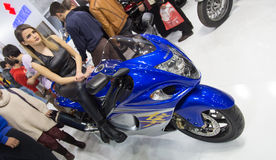 Eurasia Moto Bike Expo Royalty Free Stock Photography
