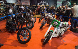 Eurasia Moto Bike Expo Stock Photos