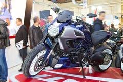 Eurasia Moto Fiets Expo 2013 Royalty-vrije Stock Afbeeldingen