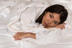 Eurasian woman Stock Photography