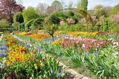 Eure det Monet huset i Giverny i Normandie Arkivfoton