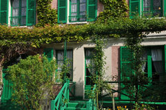 Eure, the Monet house in Giverny in Normandie Royalty Free Stock Images