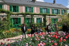 Eure, the Monet house in Giverny in Normandie Stock Photography