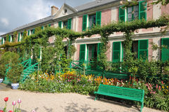 Eure, the Monet house in Giverny in Normandie Royalty Free Stock Image