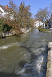 Eure river at Chartres in France Stock Image