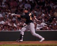 Eurebiel Durazo, infielder van Oakland A's Royalty-vrije Stock Fotografie