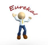 Eureka lizenzfreie abbildung