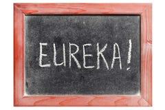 eureka royaltyfri bild