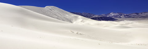 Eureka-duinen, doodsvallei, Californië Stock Foto