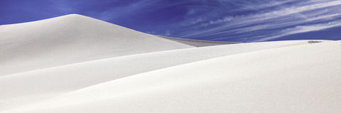 Eureka dunes, death valley, California Royalty Free Stock Photography