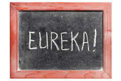 Eureka Royalty Free Stock Image