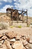 The Eureka Mine. Old mine at Eureka Mine in Death Valley National Park, USA Stock Image
