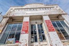 Eureka, Nevada, U.S.A. 11 maggio 2015, grande magazzino di Eureka una città sull'itinerario 50 degli Stati Uniti nel Nevada, cono Fotografia Stock