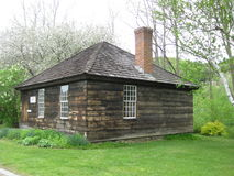 Eureka Schoolhouse,Vermont. Eureka Schoolhouse was constructed from 1785 to 1790.It is Vermont's oldest one room school and one of the few 18th century public Stock Photos