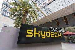 Eureka Skydeck sign Stock Images