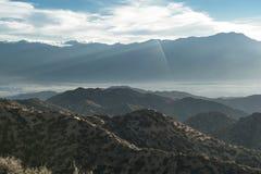 Eureka-Spitze, Joshua Tree National Park Lizenzfreies Stockfoto