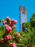 Eureka-Toren in aanbouw Stock Foto's