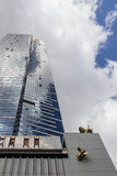 Eureka-Toren in Melbourne, Skydeck-teken Stock Foto